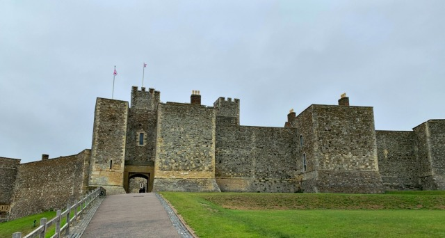 Dover Castle the medieval Tower