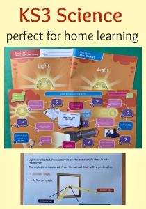 KS3 Science Resource. Perfect for home learning. Light Topic covered in a booklet, write your ow notes and fun game