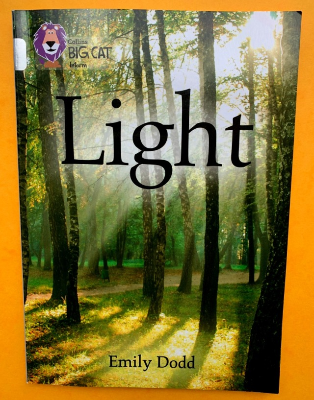 Light a Collins BIG CAT inform book