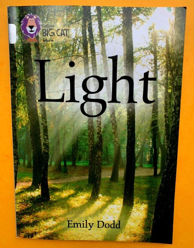 Light a Collins BIG CAT inform book