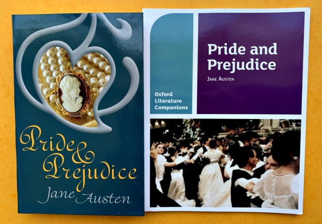 Pride and Prejudice books from Oxford University Press