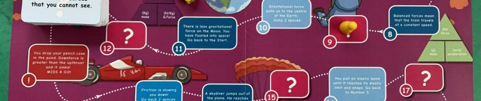Forces Topic Pack from Oaka Books comes with a Learning Game