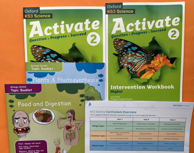 Starting Year 8 Science resource ideas