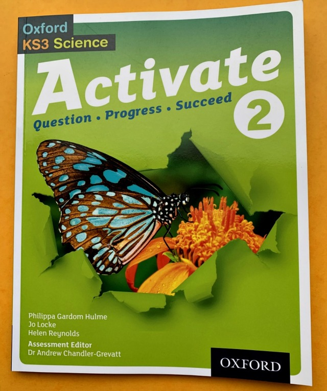 Activate 2 Student Book Year 8 Science resource