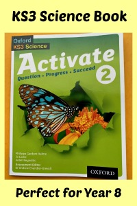 KS3 Science. Activate 2 Student Book. Perfect for Year 8 science. Home educating resource for science