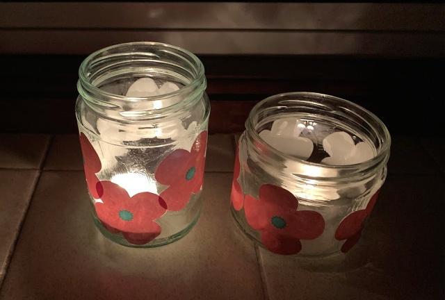 poppy lanterns