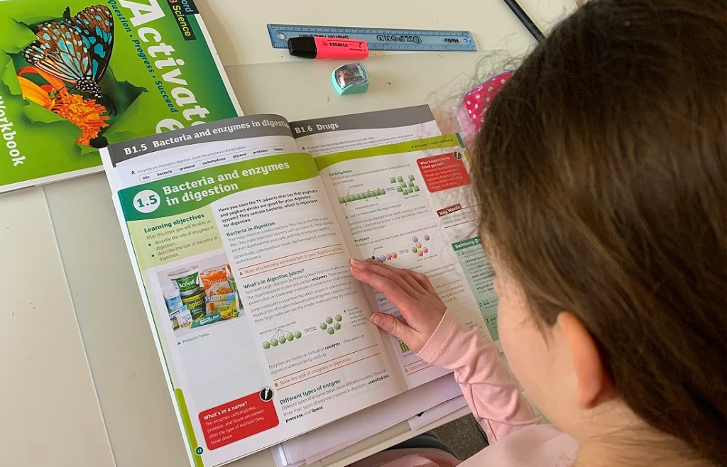 KS3 Science. Activate 2 student book and Activate 2 workbook