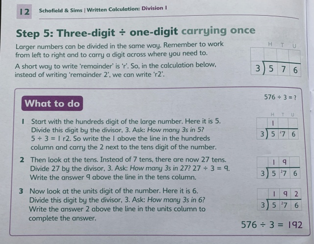 Written Calculation Books for Division and Multiplication KS2