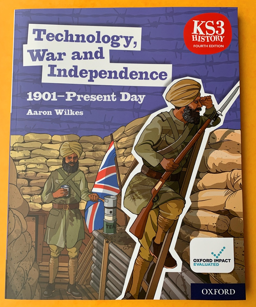 Technology, War and Independence 1901 to present day. History book for KS3