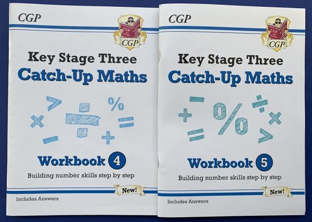 Maths Catch-Up Books 4 and 5 KS3 Maths