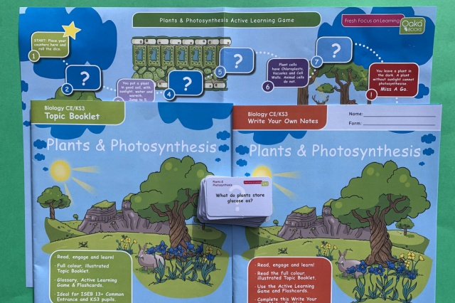 Plants and Photosynthesis Topic Pack from Oaka Books