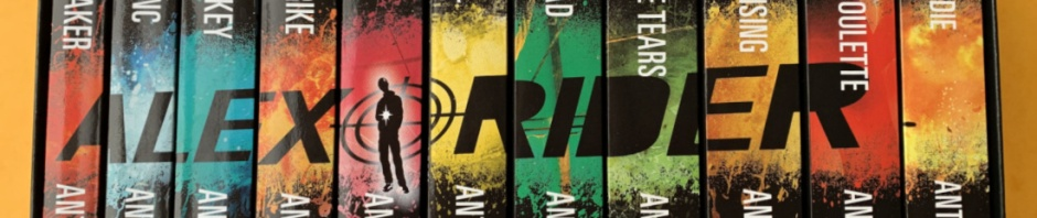 Alex Rider Books great for 10 to 14 year olds