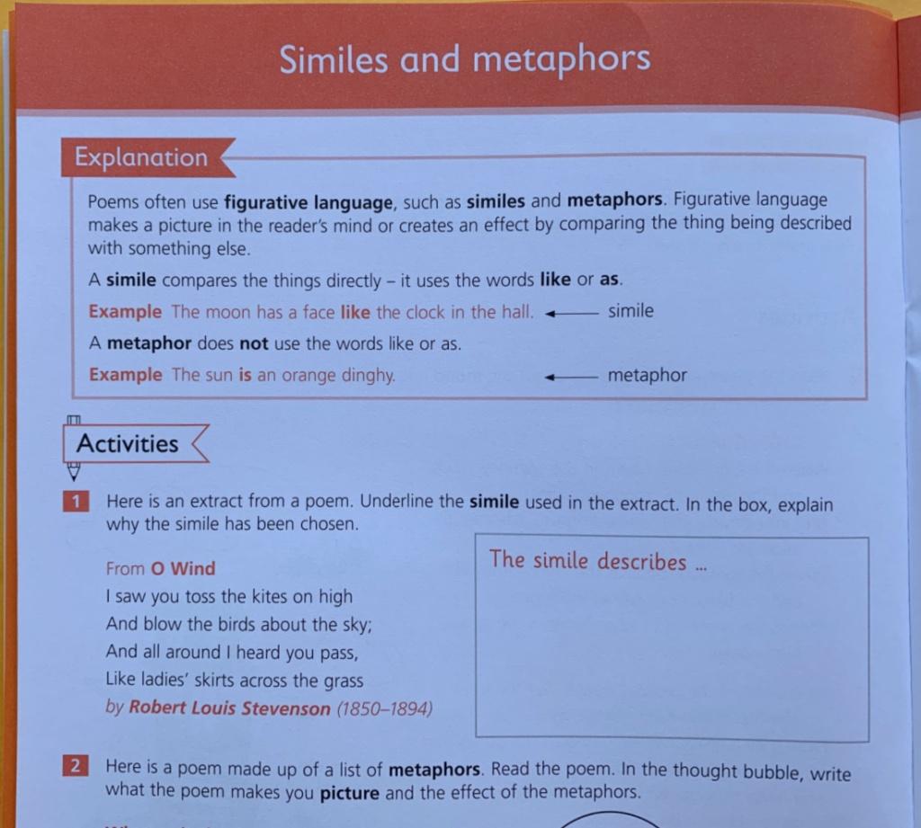 Schofield & Sims Understanding English Poetry workbook for KS2