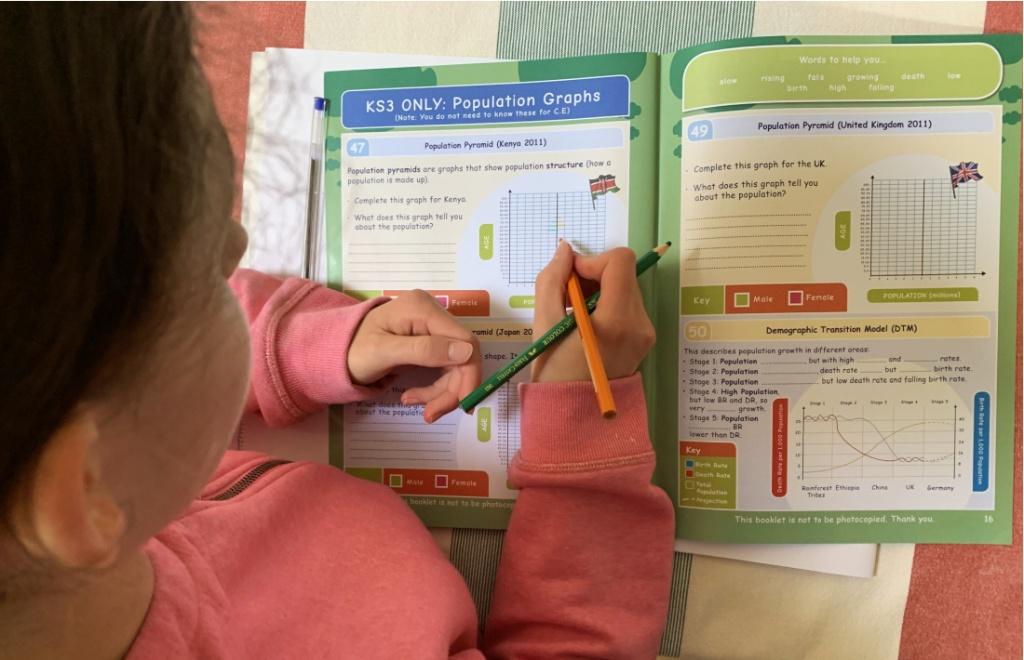 Oaka Books population Topic Pack. KS3 Geography resource