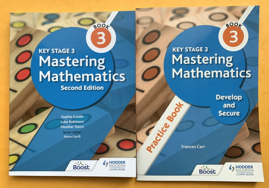 Mastering Mathematics Book 3. Maths for Year 9 students